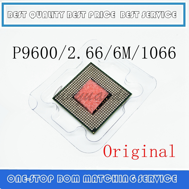 P9600 CPU Core 2 Duo Mobile CPU P9600 Dual Core 2.7GHz 6M 1066MHz Socket Pm45