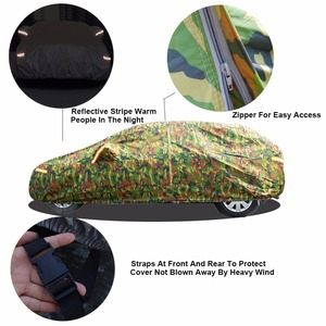 Image 3 - Kayme waterproof camouflage car covers outdoor sun protection cover for car reflector dust rain snow protective suv sedan full