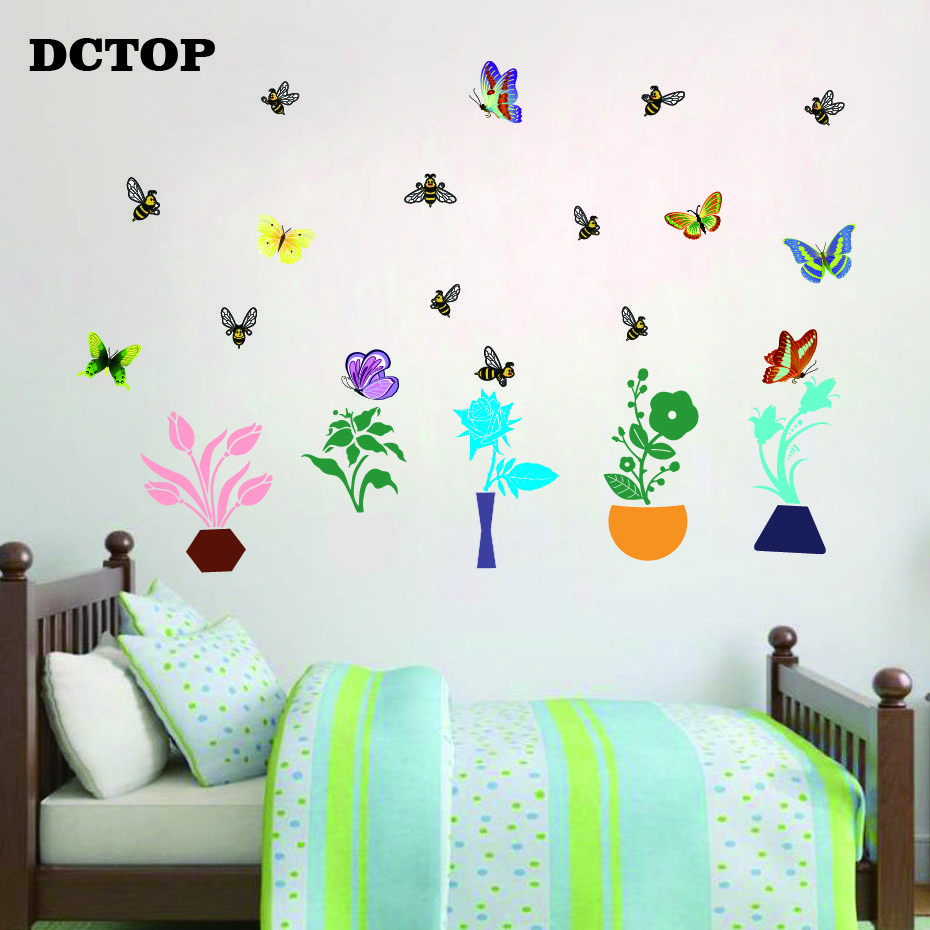 Apartment Vinyl Decal Decor Kids Room Butterfly Pattern Vinyl Wall Art Bedroom Vinyl Wall Decor Stickers Set Of 30 Butterflies Vinyl Wall Art Decals 5 X 5 5 X 5 Purple Wall Stickers Murals