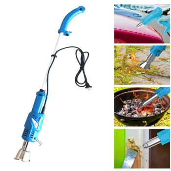 2000W Long Arm Electric Patio Lawn Mower Weed Burner Killer Remover Garden Tools EU Plug Newest