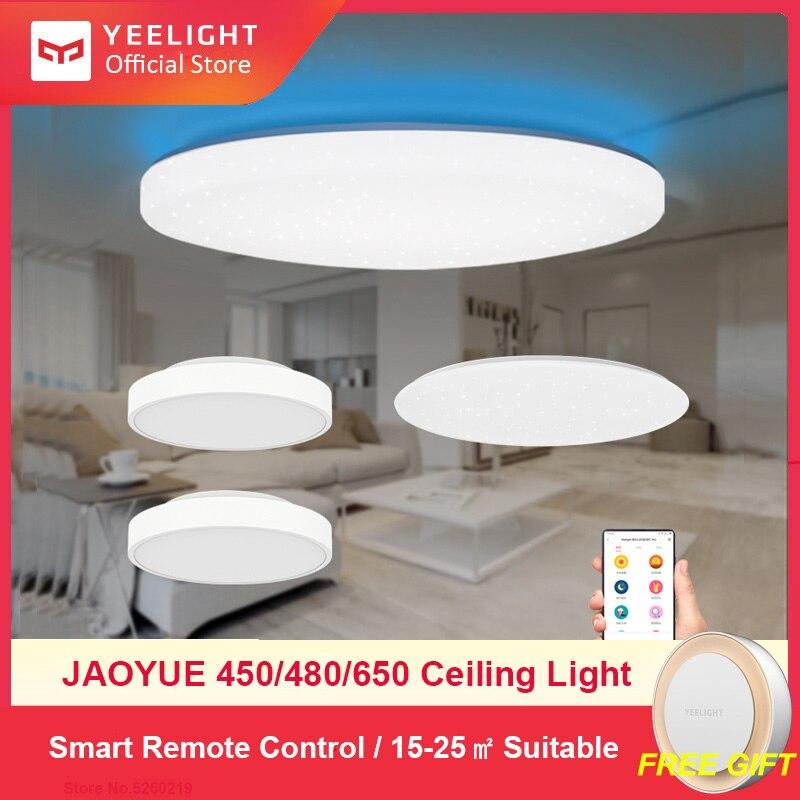 Yeelight Smart LED plafonnier éclairage d'intérieur moderne Led luminaire APP télécommande Surface montée pour salon 50W