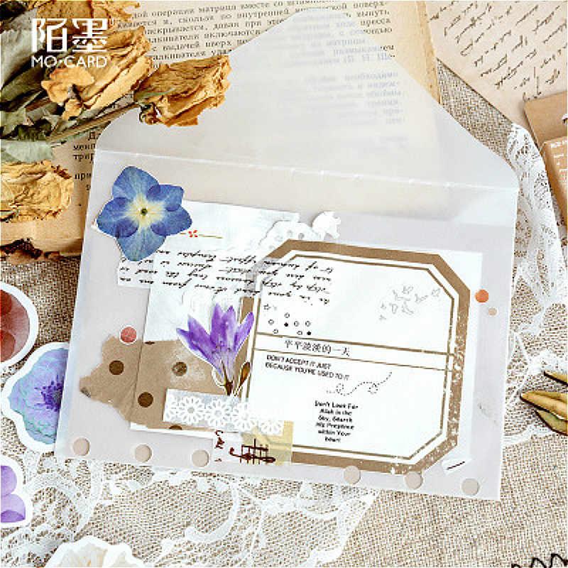 1PCS Lustro Fiori Diventare Poesie di Cancelleria Adesivi Pianeta di Carta Adesiva Creativo Kawaii Adesivi Decorazione Diario Scrapbooking