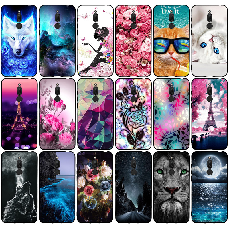 Case For Coque Meizu M6T Case 5.7 Inch Silicone Soft TPU Back Cover For Fundas Meizu M6T Shell Cover M6 T M 6T M811H Phone Cases
