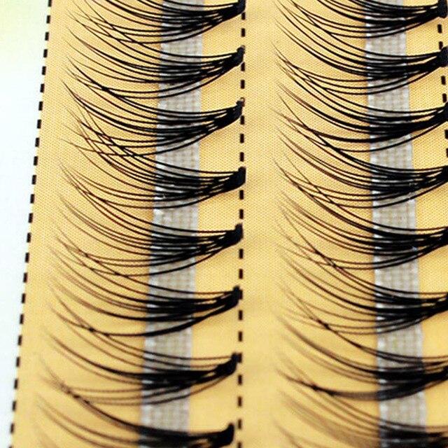 Новые 60 пряди для наращивания ресниц с индивидуальным кластером, длина 0,1 мм, толщина 6 14 мм