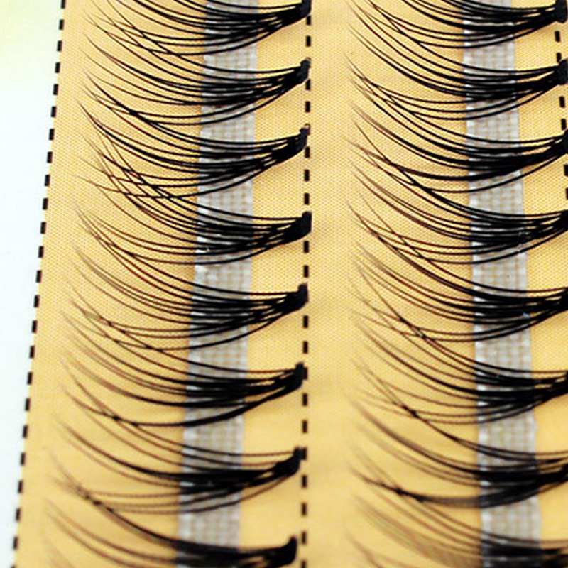 New 60 Bundles Individual Cluster Eye Lashes Grafting Eyelash Extensions 0.1mm Thickness 6-14mm Length Available