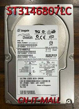 """Seagate Cheetah 10K.6 ST3146807LC 147GB 10000 RPM 8MB Cache SCSI Ultra320 80pin de disco duro de 3,5"""""""