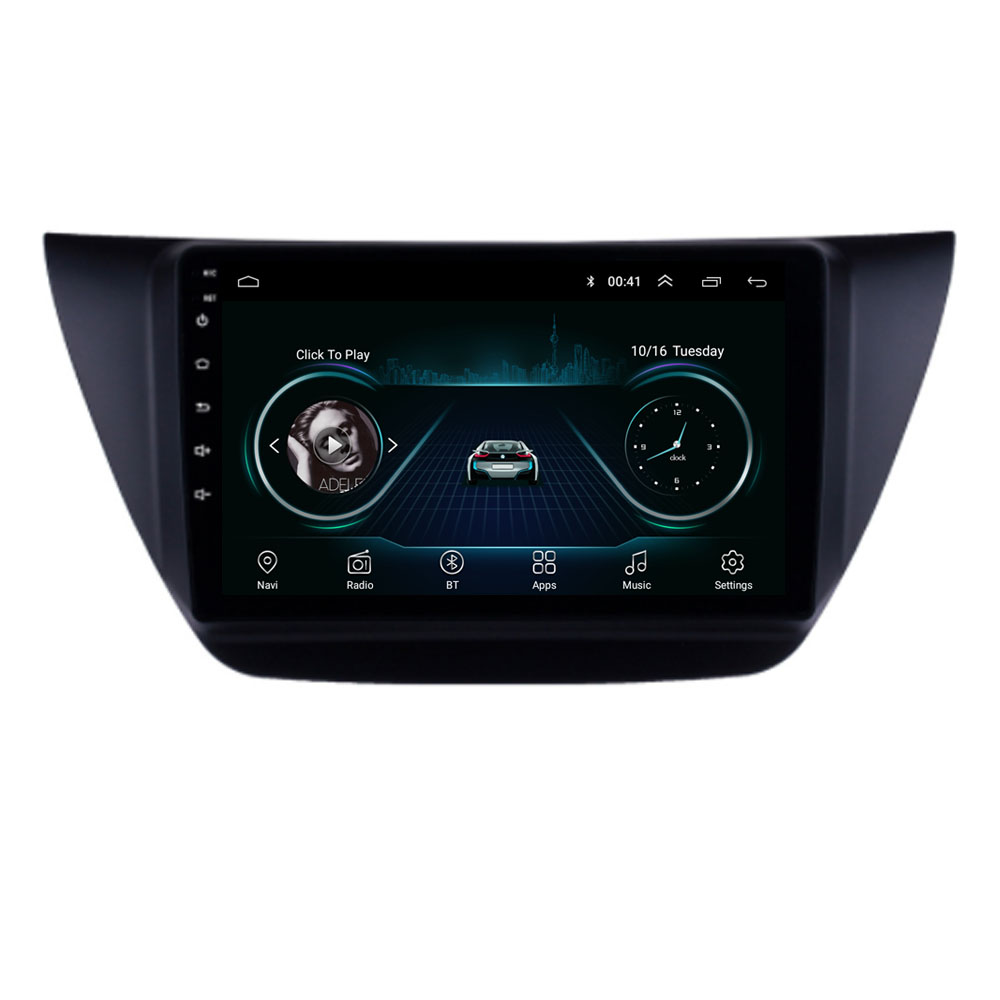 4G LTE Android 8.1 For MITSUBISHI LANCER IX 2006-2010 Multimedia Stereo Car DVD Player Navigation GPS Radio image