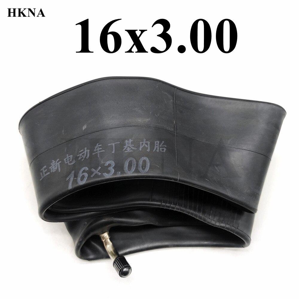 Bonne qualité 16x3.00 chambre à air 16x3.0 caméra intérieure 16 pouces pneu intérieur pour accessoires de véhicule électrique