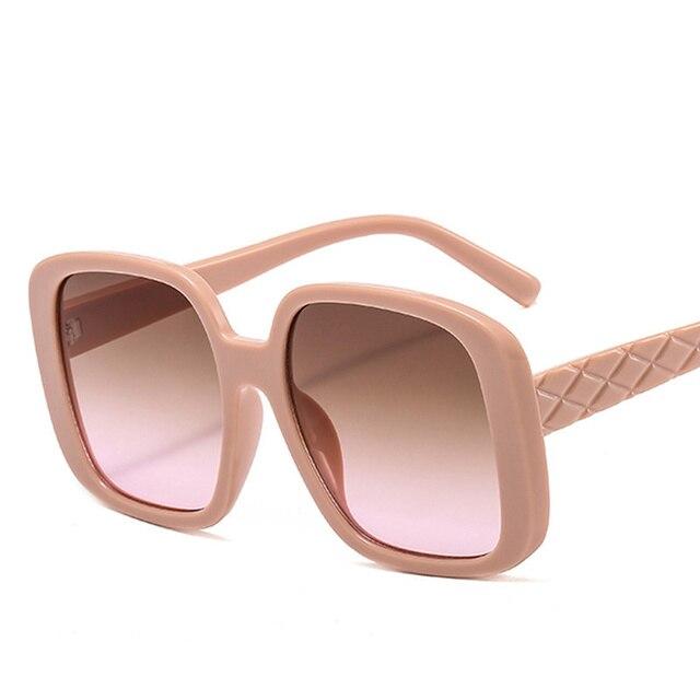 Фото градиентные солнцезащитные очки для женщин новинка 2020 роскошные цена