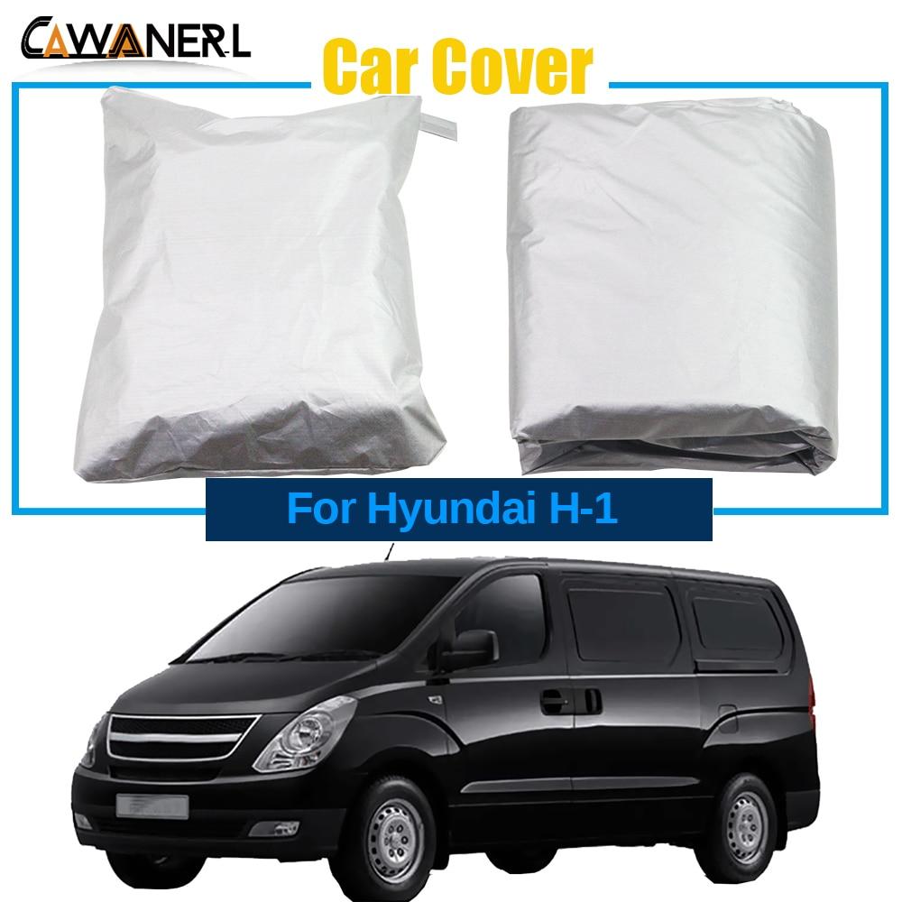Full Car Cover For Hyundai H-1 Satellite i800 Grand Starex Outdoor Anti-UV Sun Rain Snow Dust Resistant Windproof MPV Cover