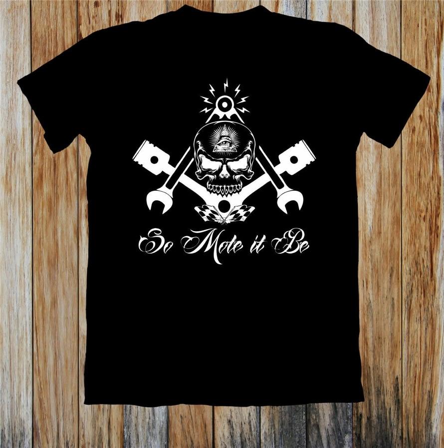 Retro Hot Rod T Shirt Wicked Piston VooDoo Skull 1950 Car Club S to 6XL and Tall