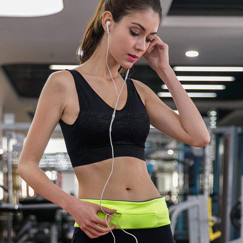 running - Professional Running Waist Bag for Mobile Phone Unisex Gym Bags Running Belt Waist Pack Fanny Pack Sports Bag Belt Accessories