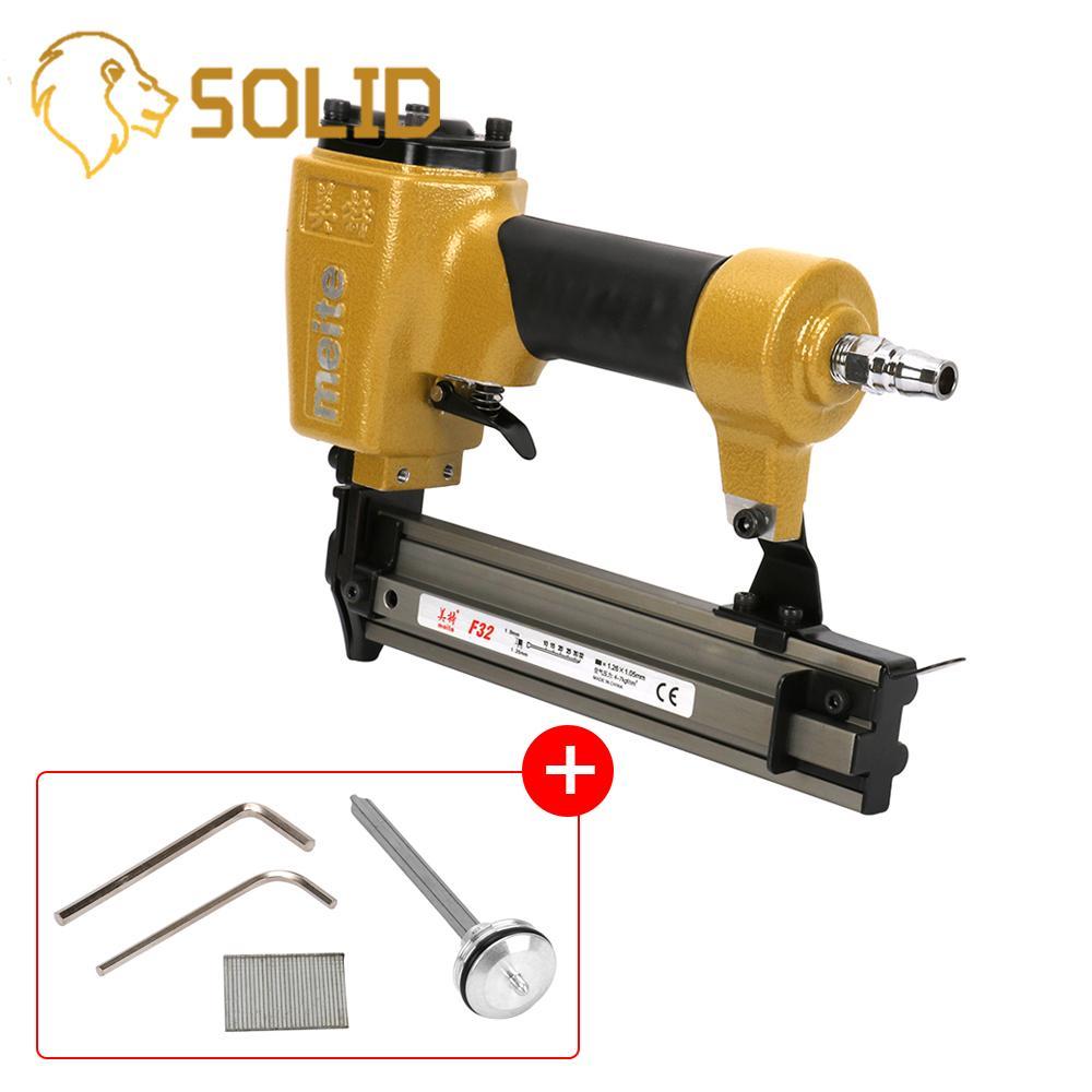 Pneumatic Nailer Gun Air Stapler Tools for Home DIY Carpentry Decoration