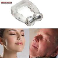 جهاز منع الشخير صغير الحجم لمنع الشخير من السيليكون لمنع الشخير في الأنف جهاز مكافحة الشخير للمساعدة في التنفس أثناء النوم-في النوم والشخير من الجمال والصحة على