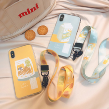 STARRY FOREST Yummy Food Series illustrated soft case for