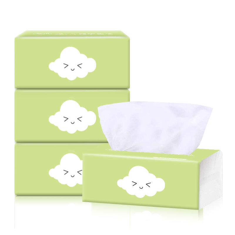 6 Pack 3Ply Household Toilet Paper Napkin Paper Household Paper Towel Paper Soft Facial Tissue Blotting Paper