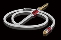 Hifi Copper and Silver plated Dual 6.5mm to Dual RCA Cable