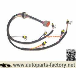 Remplacement de faisceau de câbles d'injecteur de Longyue 222-5917 pour le moteur de l'excavatrice C7 de Caterpillar 324D 325D E325D 329D