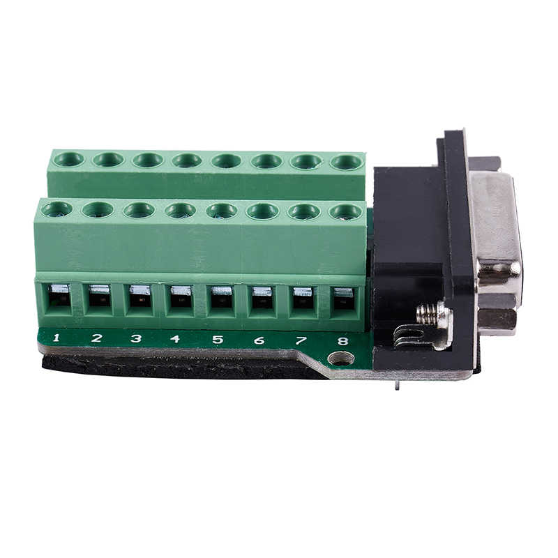 DB15 D-SUB VGA 15pin メスアダプタジャック端子ブレイクアウト PCB ボード