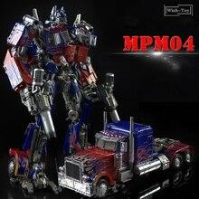 WJ التحول روبوت MPM04 MPM 04 الأسود أبل W8606 المرجع قائد الله للحرب كبيرة الحجم ديكاست زعيم عمل نموذج لجسم اللعب