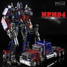 Wj Transformatie Robot MPM04 MPM 04 Zwart Apple W8606 Op Commander God Voor Oorlog Oversize Diecast Leider Action Figure Model Speelgoed