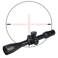 Quality guarantee tactical side focus scope 6 24x42 SFIRF rifle scope red/green mil dot reticle hunting HK1 0282
