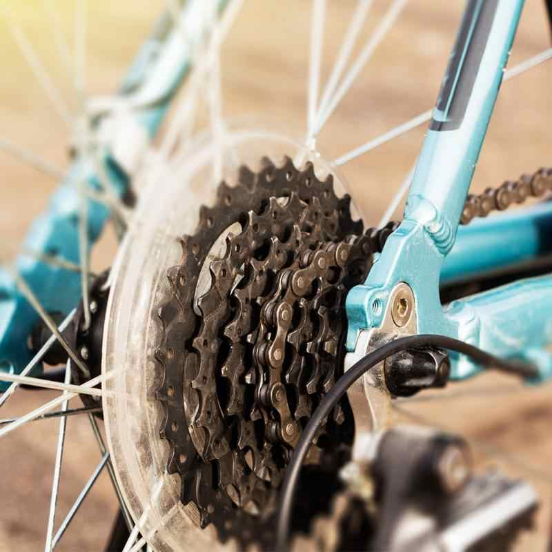 אופני הרי אופניים גלגל תנופה תמיכה 15.5cm קוטר דיסק בלם קלטת רכזות Chainwheel הגנת כיסוי חלק