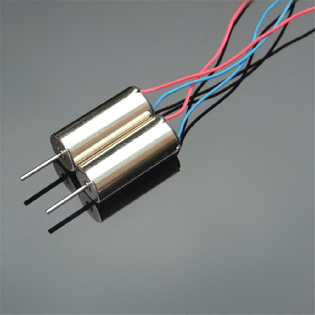 HobbyLane 2Pcs HM4 High Speed Strong Magnet 716 Motor For 3.7V 55000 R Quadcopter