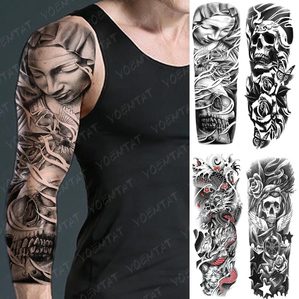 Flügel männer tattoo arm SKIN STORIES