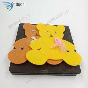 Image 3 - Home decoration bear DIY handmade scrapbooking die cutting board MY S504