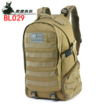 Hot Selling Outdoor Camouflage Backpack Outdoor Tactical Bag Sports Mountain Climbing Backpack Outdoor Supplies цена 2017