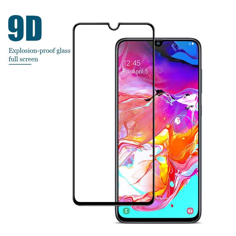 Защитное стекло для Samsung Galaxy A50 A40 A30 A20 A10 Защитная пленка для Samsung A90 5g A70 A60 HD