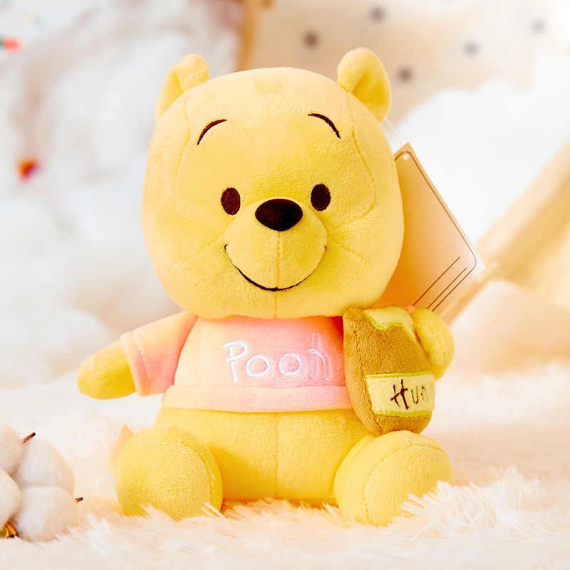 Oryginalny Disney 20/30cm garnek na miód kubuś puchatek wypchany miś pluszowa lalka miękka lalka szmaciana lalka zabawki prezent urodzinowy dla dzieci