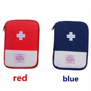 Image 2 - Trousse de trousse de premiers soins Portable extérieur, pochette de trousse de médicaments de voyage sacs durgence, petit séparateur de médicaments rangement