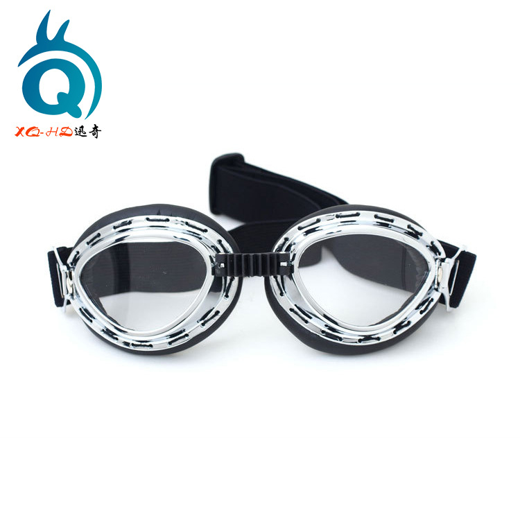 Motorcycle Wind-proof Glasses Locomotive E-Bike Riding Eye-protection Goggles Cool Trend Harley Retro Mask Goggles