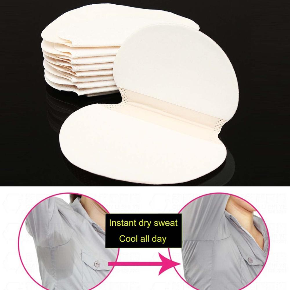 100/200/300/400/500pcs Underarm Sweat Pads Absorb Liners From Sweat Armpit Stickers Anti Armpits Pads For Clothes Deodorant