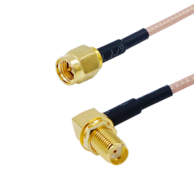 6in 6 SMA Male Plug to SMA Male Plug Straight Crimp RG316 Cable Pigtail 15cm Ships from USA