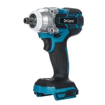 Drillpro 18V 520N.m Cordless Brushless Impact Wrench Stepless Speed Change Switch Adapted To 18V Makita battery