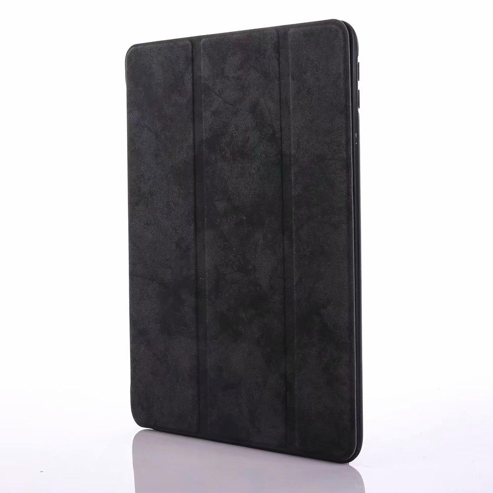 for iPad 12.9 Black Black For iPad Pro 12 9 2020 Case Pencil Holder Smart Trifold Case Cover Auto Sleep Wake