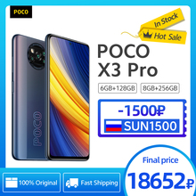 [World Premiere In Stock] POCO X3 Pro Global Version Octa Core Snapdragon 860 Smartphone 120Hz Dot Display 5160mAh 33W NFC