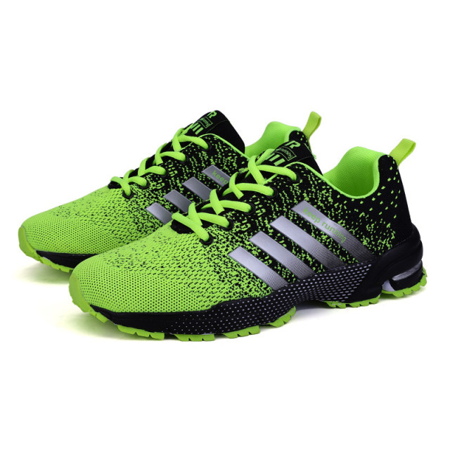 Big Size Green Breathable Cheap Running