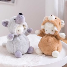 Plush-Toy Dolls Hand-Puppet Babys Cartoon Cute for 6-Patterns 22cm Dressed Lamb Baby-Sheep-Boutique