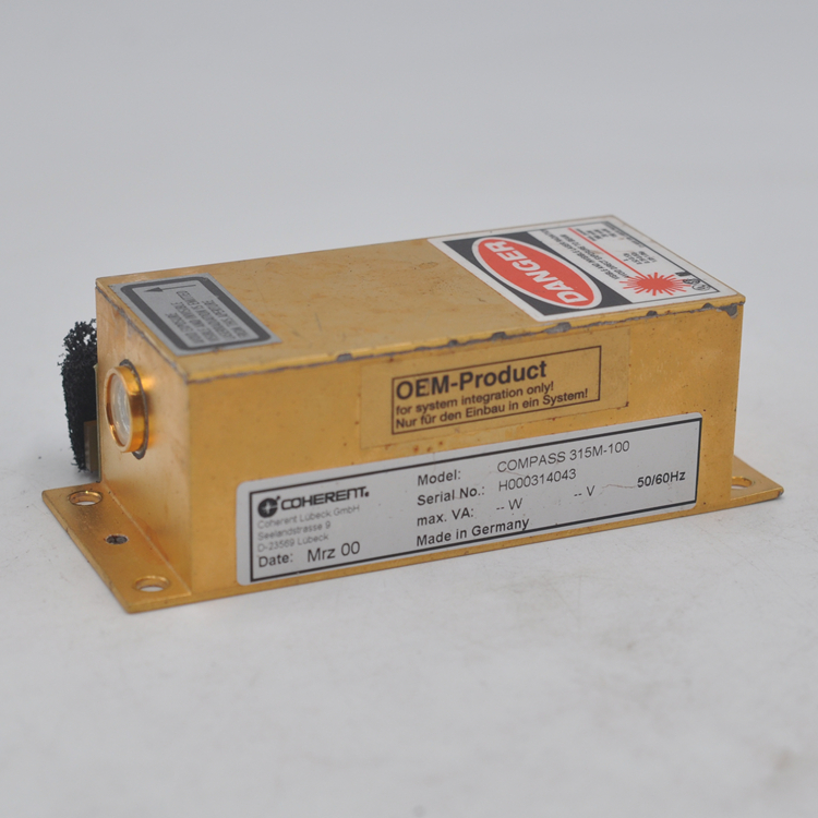 Original Disassembly Machine COHERENT COMPASS 315M-100 Power Laser Head Digital Controller