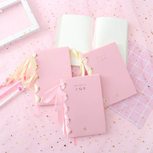 Cute A6 Notebook Blank Inner Page DIY Notepad Organizer Diary Planner Agenda Journal For Girls School Stationery Write Supplies cute mini coil portable notepad sheep chicken bird panda office student school supplies planner notebook inner page with line