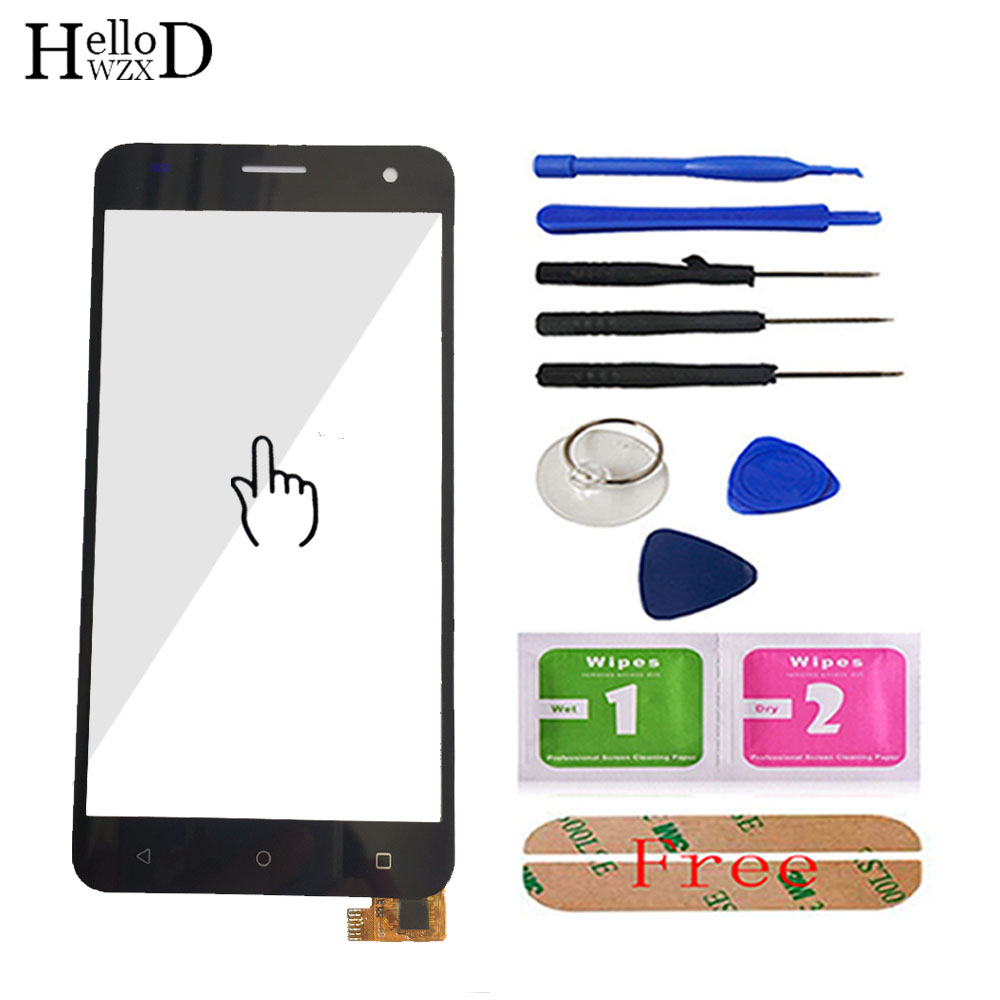 5.0'' Touch Screen Glass For <font><b>Fly</b></font> FS504 Cirrus 2 <font><b>FS</b></font> <font><b>504</b></font> Front Touch Screen Glass Digitizer Panel Sensor Tools Adhesive image