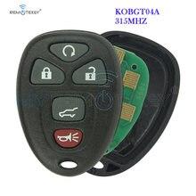 5 кнопочный Автомобильный ключ remtekey kobgt04a 315 МГц для