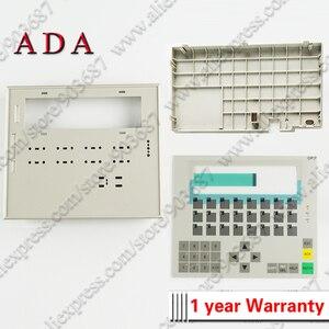 Image 1 - プラスチック用カバー 6AV3617 1JC20 0AX1 6AV3 617 1JC20 0AX1 OP17 フロントケースと背面カバーハウジングシェル + 膜キーボード