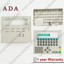 Capas de plástico para 6av3617 1jc20 0ax1 6av3 617 1jc20 0ax1 op17 capa frontal e capa traseira habitação escudo + teclado de membrana