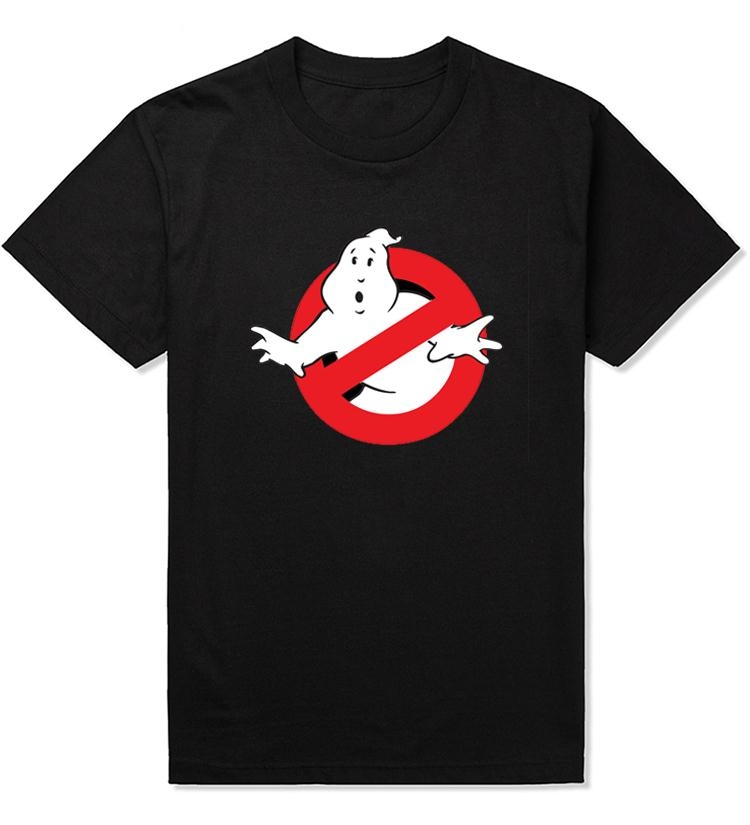 Fashion Summer Ghostbuster T Shirt Men Short Sleeve Movie Music Top Tees With Short Sleeve T-shirt Tops Camisa Free Shipping