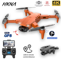 HKNA L900PRO GPS Drone 4K Professional Dual-HD Kamera Luft Fotografie Bürstenlosen Faltbare Quadcopter RC Abstand 1200M Geschenke